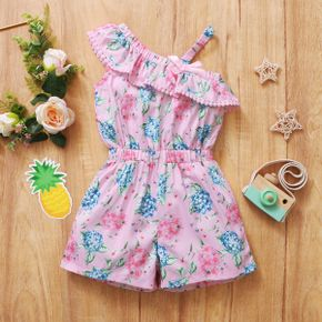 Baby / Toddler Girl Pretty Print Romper