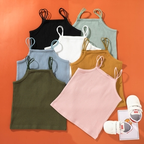 Toddler Girl Cotton Sling Sweet Camisole