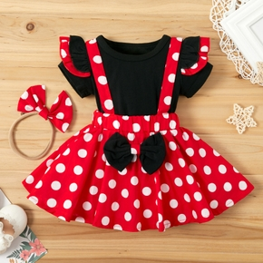 Baby Girl Sweet Polka Dot Dress