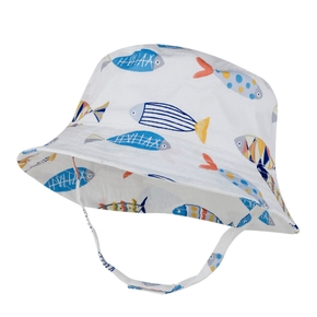 Baby / Toddler Fish Allover Sunproof Hat