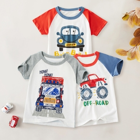 Kids Boy Car Cartoon Tee