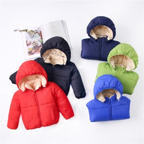 Baby Girl Sports Coat & Jacket Warm Hoodie Children Winter Thick Coat