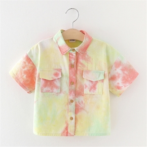 Baby / Toddler Chic Tie Dye Shirt With Pocket