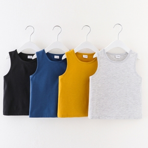Baby / Toddler Solid Comfy Cotton Camisole