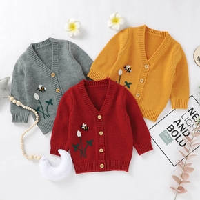 Baby Cool Cartoon Knitted Coat