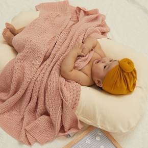Baby Cotton Blanket Swaddling Thermal Soft Bedding Set Infant Bedding Swaddle Wrap Stroller Blanket