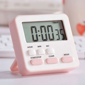 Silent Multi-function Timer Student Time Manager Kitchen and Bedroom Timing Reminder Clock Alarm Clock