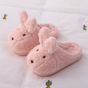 Toddler / Kid Girl Animal Rabbit Sweet Polarfleece Thermal Slippers
