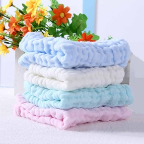 4-pack Comfy Solid Towel Set for Baby