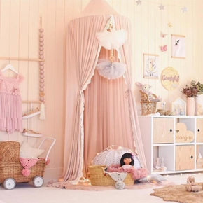 Princess Mosquito Net Bed Canopy for Kids and Baby