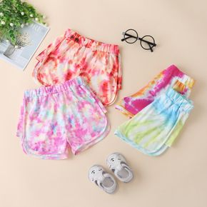 Toddler Girl Fashion Tie dye Shorts
