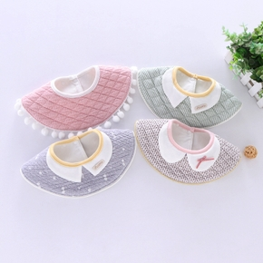 Baby 360 Degrees Cotton False Collar Bibs