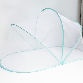 Newborn Baby Crib Mosquito Net With Holder Arch Portable Foldable Crib Anti-Mosquito Cover
