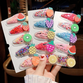 5-pack Fruit Colorful Hairpins for Girls