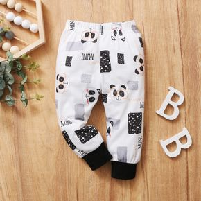 1pc Baby Girl casual Animal sweartpants Casual Pants