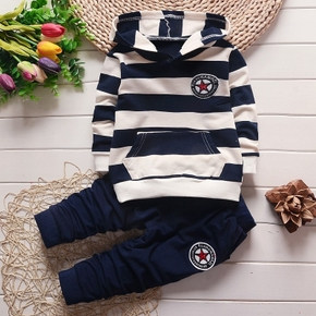 Baby Boy Casual Striped Sets