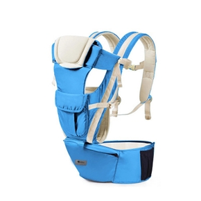 Baby Carrier with Waist Stool Baby Carrier with Hip Seat for Breastfeeding One Size Fits All Adapt to Newborn Infant & Toddler