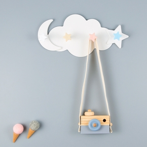 Plastic Cloud Star Stick Children's Room Decor Hanging Wall Decor