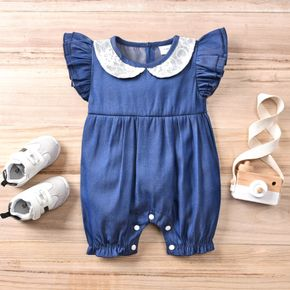 Baby Girl casual Lace Collar Jumpsuits