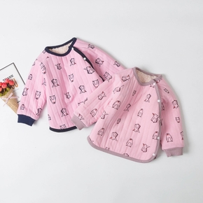 Baby Girl casual Animal & Penguin Coat & Jacket Cotton Long-sleeve Infant Clothing Outfits