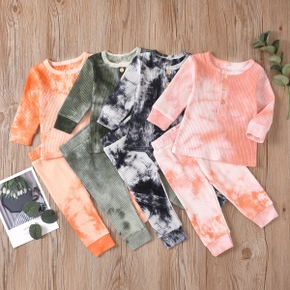 2pcs Baby Unisex casual Baby's Sets Cotton Outfit Suit Costume Infant Clothing