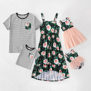 Mosaic Floral Print Family Matching Sets