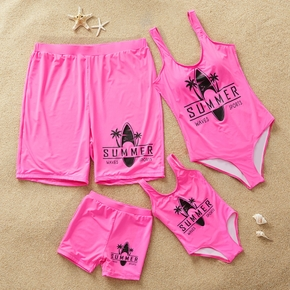 Summer Family Swimsuits