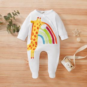 Baby Girl / Boy Deer Rainbow Jumpsuit