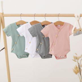 1pc Baby Short-sleeve Cotton Unisex casual Rompers & Bodysuits