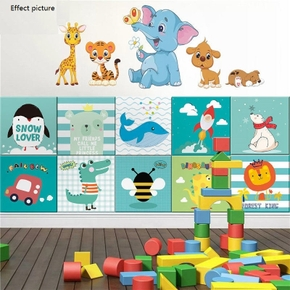 Wall Stickers Protect Baby Back Cushion Wall Pads Self-adhesive Children's Anti-collision Wall Stickers Soft Pack Background