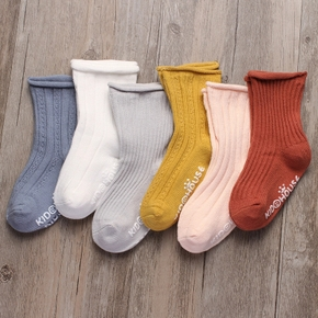 Baby / Toddler Solid Antiskid Socks