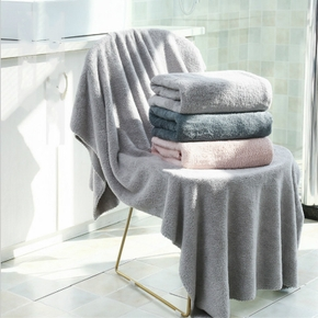 natural material comfortable soft family wash towel absorption bath tow