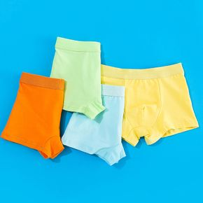 4- Pack Baby / Toddler Boy Solid Underwear Set