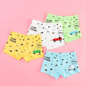 4- Pack Baby / Toddler Boy Cartoon Underwear Set