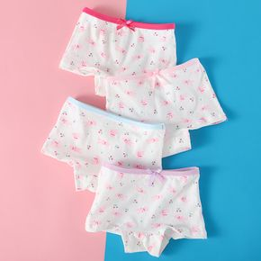 4-Pack Baby / Toddler Girl Cutie Rabbit Pattern Pantie Set