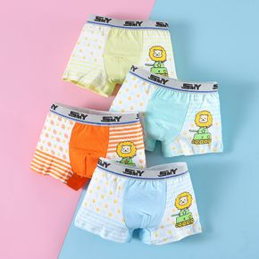 4-Pack Baby / Toddler Boy Lion Knickers