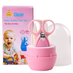 4 Pcs Baby Nail Care Set