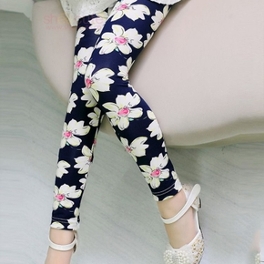 Fashionable Floral Pattern Leggings