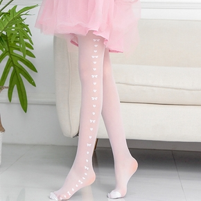 Beautiful Side Heart Embroidered Leggings
