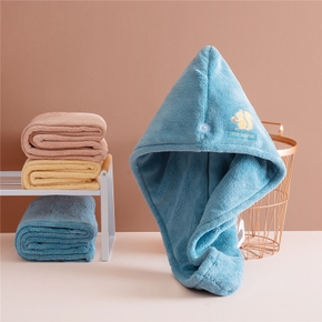 Cartoon Strong Absorbent Hair Dryer Cap Does Not Hurt Hair and Wipes the Towel