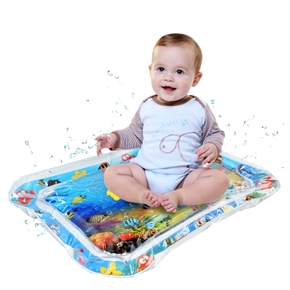 Baby Play Game Mat Summer Inflatable Water Mat for Babies Safety Cushion Ice Mat Fun Activity Playmat Early Education Kids Toys