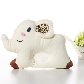 Anti-eccentric Head New Pillow Newborn Baby Anti-rolling Pillow Correction Baby Pillow Small Elephant