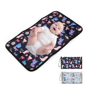 Cartoon Dinosaur Printing Newborn Baby Changing Pad Portable Out Double-sided Waterproof Changing Pad
