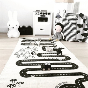 Crawling Blanket Adventure Racing Carpet for Baby and Kid