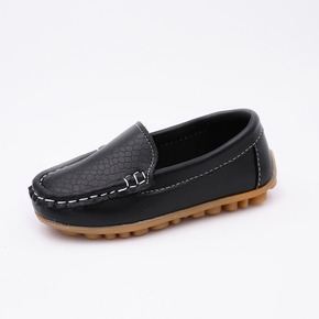 Toddler / Kid Solid Elegant Casual Leather Shoes