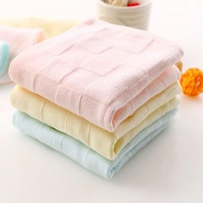 3-pack Double-layer Cotton Towels for Baby