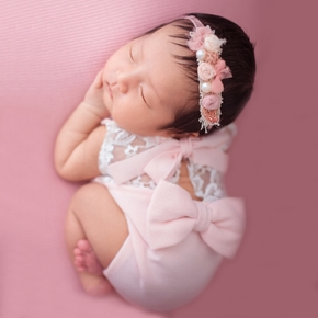Newborn Photography Props Cute Bowknot photography clothes