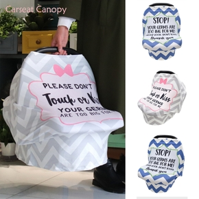 Privacy Nursing Cover Preemie no touching baby car seat cover Shopping Cart Grocery Trolley Cover