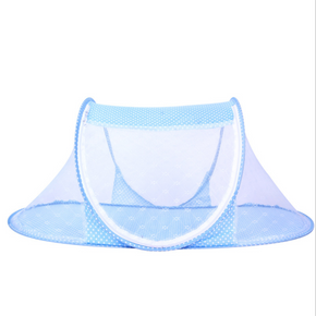 Portable Foldable Dotted Baby Mosquito Net Tent Travel Bed