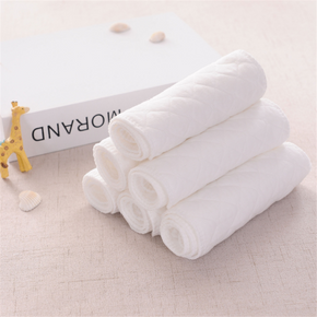 10 Pcs Three-layer Cotton Cloth Diaper Inserts